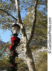 NYC Holiday Lamp