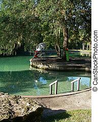 Natural Springs Summer Watering Pool