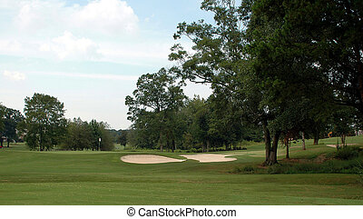 Golf Course - Photographed golf course in Georgia.