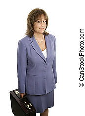 Businesswoman - An attractive, competent looking business...