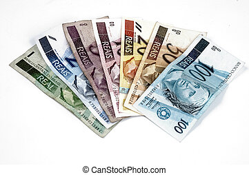 "Brazilian Money - Brazilian \""Real\\\"" money collection"