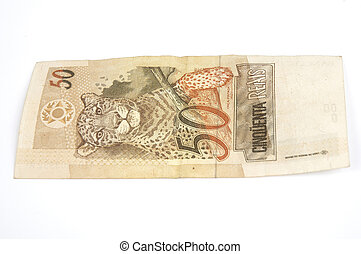 Brazilian Money - Brazilian money 50 Real