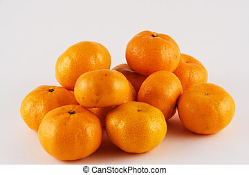 Tangerines - A group of tangerines and satsumas