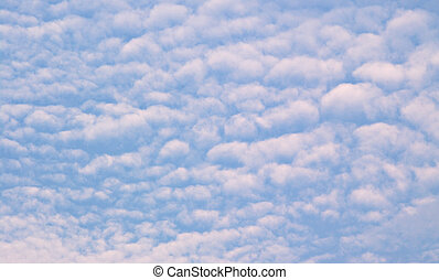 Above or below - Clouds in sky with perspective that could...