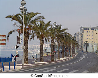 nice the coastline - nice france the coastline