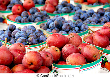 Fruits for sale at farmer\\\'s market