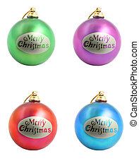 christmas ornaments - Christmas. Colorful christmas...