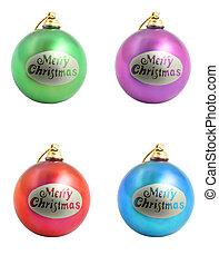 christmas ornaments - Christmas. Colorful christmas...