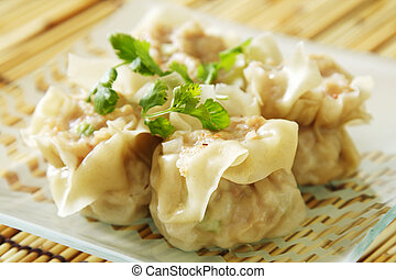 Chinese dimsum - Chinese steamed shumay dimsum dish