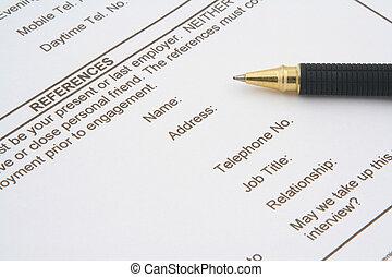 job application form #2