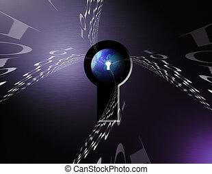 Keyhole 1