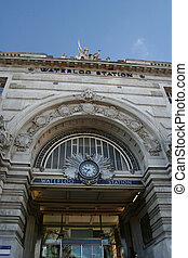 Waterloo Railway Station - Entrance to Waterloo Railway...