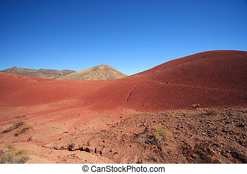 Painted Hills in eastern Oregon
