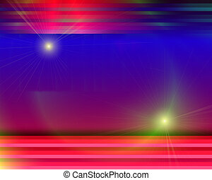 Abstract Illustration: Background Stripes