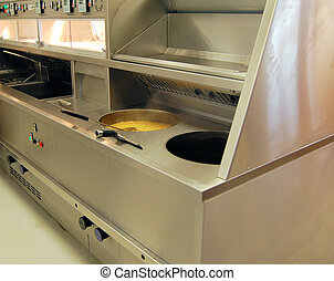 Commercial Fryer - Commercial Range fryer fitted in Fish and...