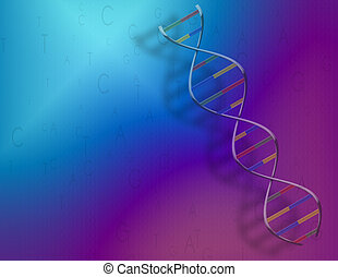 DNA strand and genetic code