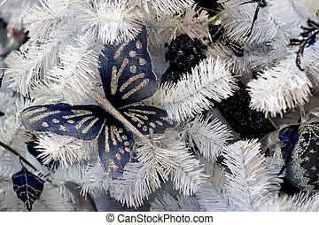 Christmas decoration - Christmas background-natural pattern...