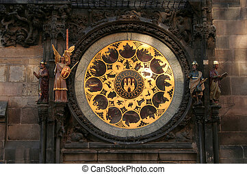 Prague Astronomical Clock 5 - Orloj - the famous...