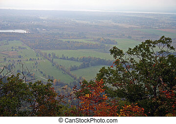 Ottawa Valley - View from King Mountain in Gatineau, Quebec