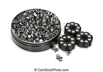 Pellets - Photo of Lead .177 Gun Pellets