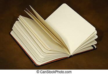 Open Journal - Photo of an Open Book