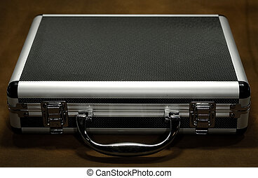 Case - Photo of a Metal Attache Case