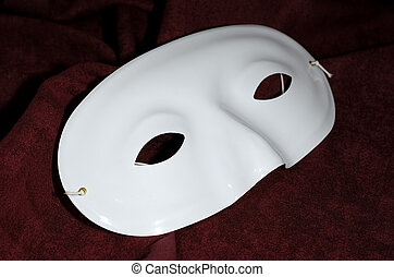 Mask - Photo of a White Half Mask