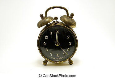 Alarm Clock - Photo of a Vintage Alarm Clock
