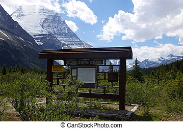 Mt. Robson 3 - Mt. Robson in the Canadian Rockies in British...