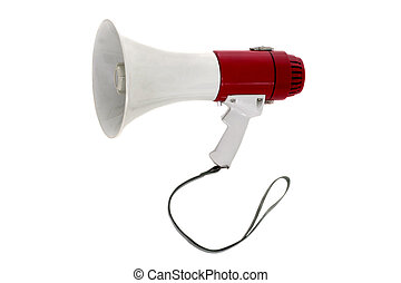 Megaphone 2 - A powerful portable public address megaphone...