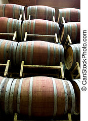 Wine barrels - Wine tasting tour in Columbia Valley, USA