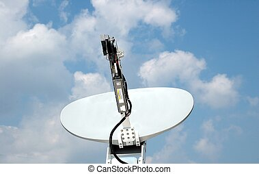 Satellite Dish - Photographed satellite dish at an event in...