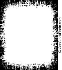 Grunge background - Detailed grunge border