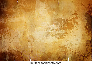 warm vintage background with dark border - great old grunge...