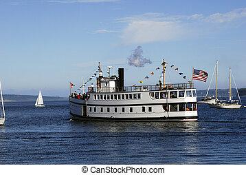 virginia v - steamship virginia v at port townsend