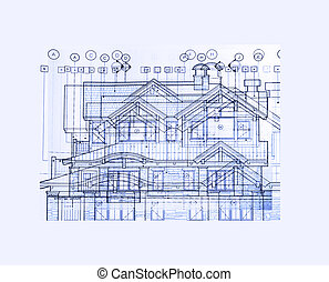 absrtact plans - abstract house plans