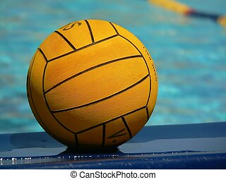 Water Polo - a water polo ball
