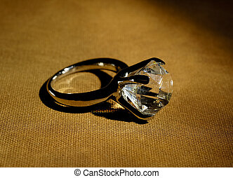 Diamond Ring - Photo of a Diamond Ring