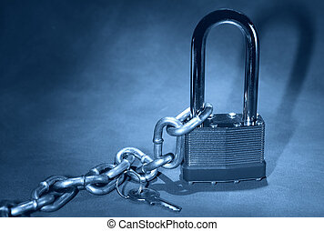 Security - Photo of a Lock and Chain
