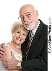 Succesful Senior Couple In Love - A handsome, successful...