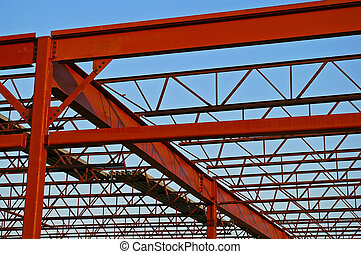 Steel Roof Trusses - Open web structural steel trusses