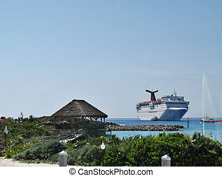 Cruise Ship Tenders - tender boats ferry passengers back and...