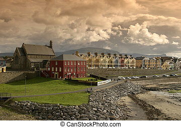 Bundoran, County Donegal on the North West Coast of Ireland...
