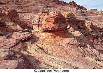 Rock Formation, Coyote Butte, Vermilion Cliffs,