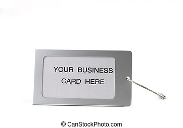 business tag - write your company name