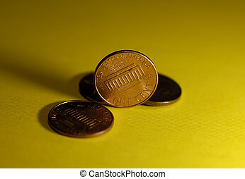 Pennies - Photo of Several Pennies