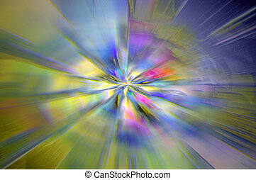 Big bang background - Abstract background design of...