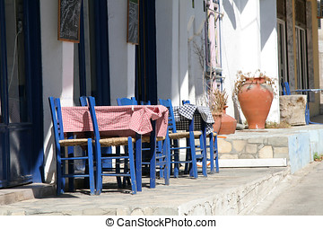Roadside restaurant - Little greek restaurant by the side of...