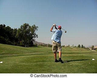 Golf - Teeing Off Big
