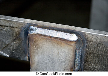 Stainless steel weld - 1/4 Stainless Steel bar. (Mig welded)